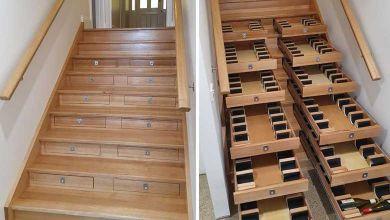 Photo de Un australien transforme son escalier en cave à vin… C'est juste parfait pour optimiser cet espace souvent vide !