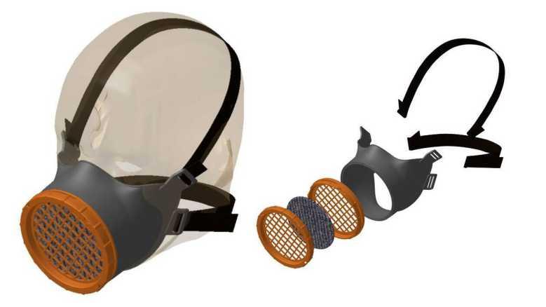 Michelin invente un masque réutilisable indéfiniment et obtient déjà plus de 350 000 pré-commandes !