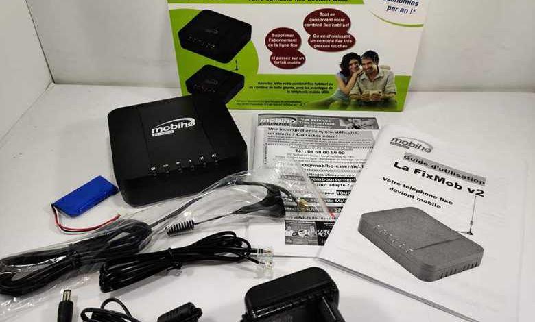 Un kit pour transformer un combiné fixe en mobile, pour les seniors et réfractaires du smartphone