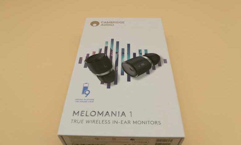 Nous avons testé les écouteurs intra-auriculaires Cambridge Audio Melomania 1