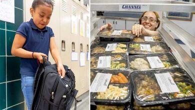 Au lieu de jeter, cette cantine scolaire reconditionne et redistribue les repas non servis aux enfants les plus démunis