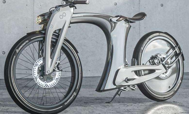 Carbogatto H7 : une moto électrique russe au design pour le moins surprenant