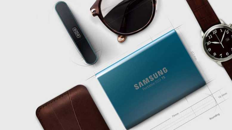 Énorme promotion sur les disques durs SSD Portable de Samsung (jusqu'à moins 60%)