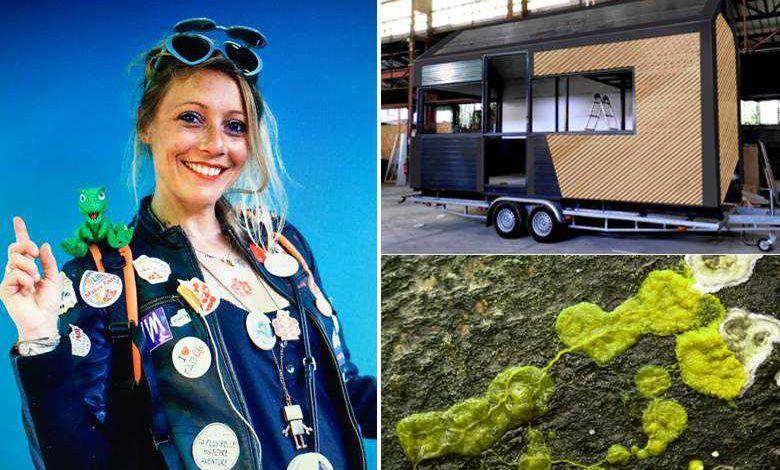 Une Tiny-House low-tech pilotable par un blob... l'incroyable projet de Cécile Ravaux
