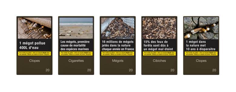 Alice Amiel, directrice artistique relooke les paquets de cigarettes pour sensibiliser à la pollution aux mégots !