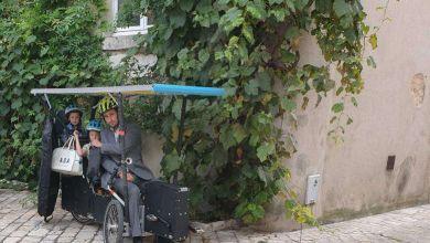 Photo de Grégory Barrier invente un étonnant «vélo-couché» électrique qui fonctionne à l'énergie solaire !