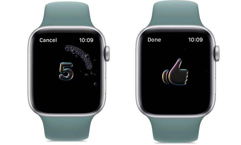 """Apple inclut un algorithme """"lavage des mains"""" dans son nouveau WatchOS7"""