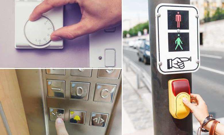"""Le saviez-vous ? De nombreux boutons du quotidien ne servent strictement à rien, ce sont des """"boutons placebo"""""""