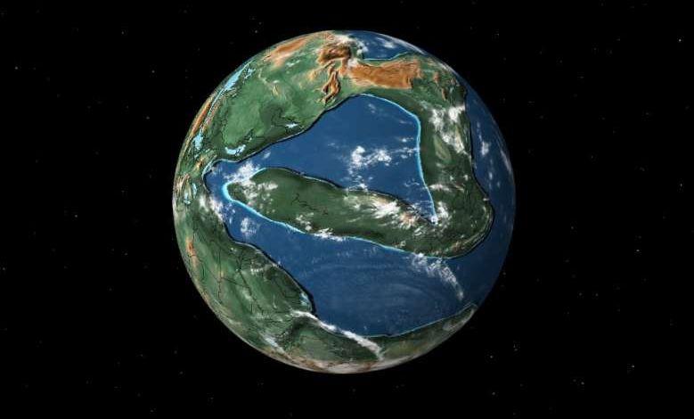 Cette carte vous permet de savoir quels dinosaures vivaient dans votre région