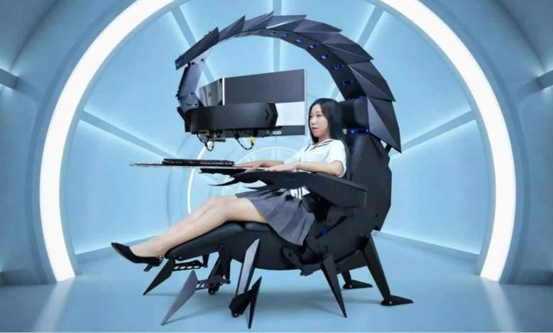Cluvens Scorpion : cette incroyable chaise de gaming est également un siège de massage chauffant
