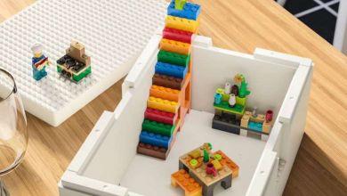 Photo de LEGO et d'IKEA dévoilent la BYGGLEK, une boite de rangement pour les LEGO
