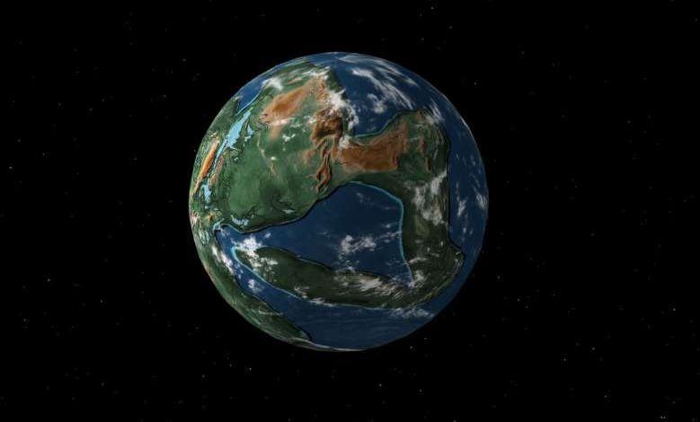 Cette carte interactive localise votre ville il y a presque un milliard d'années, avant la dérive des continents !