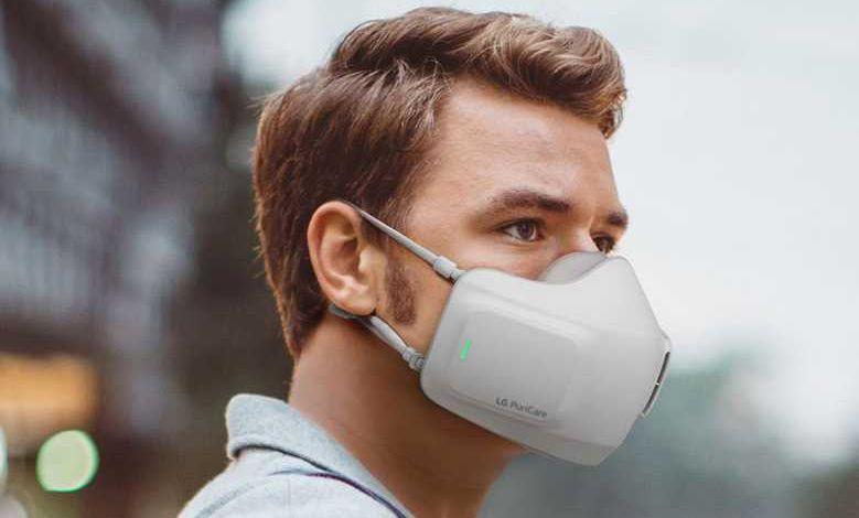 """LG dévoile son masque """"PuriCare Wearable Air Purifier"""" avec purificateur d'air intégré"""