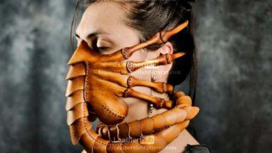 """Un masque """"Facehugger"""" inspiré du film Alien à créer soi-même"""