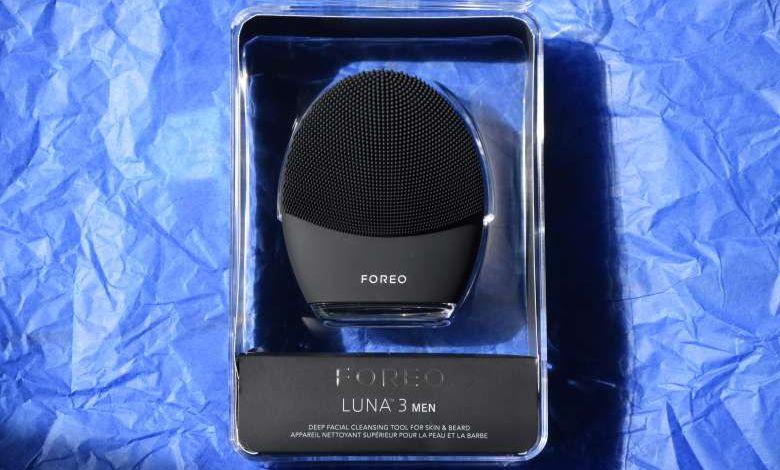 Test : Luna 3 Men de Foreo pour tous les hommes qui aiment prendre soin de leur visage !