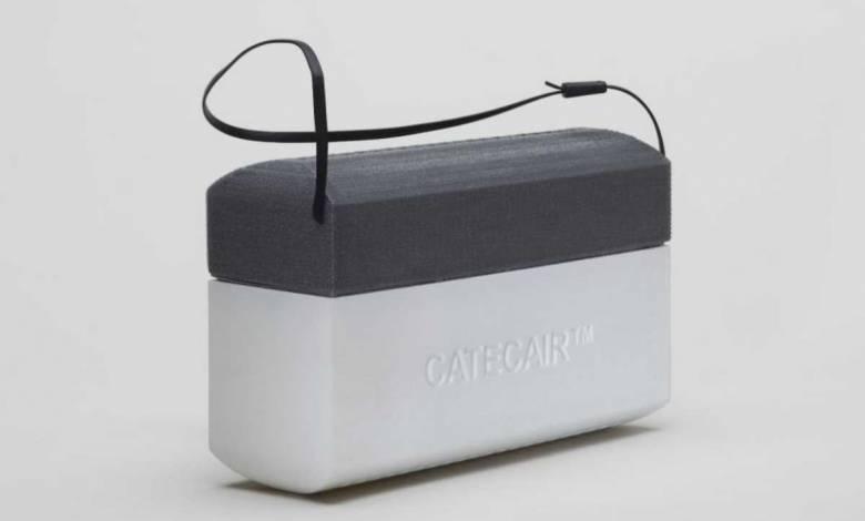Catecair 101, un boitier portable pour dépolluer l'air qu'on respire