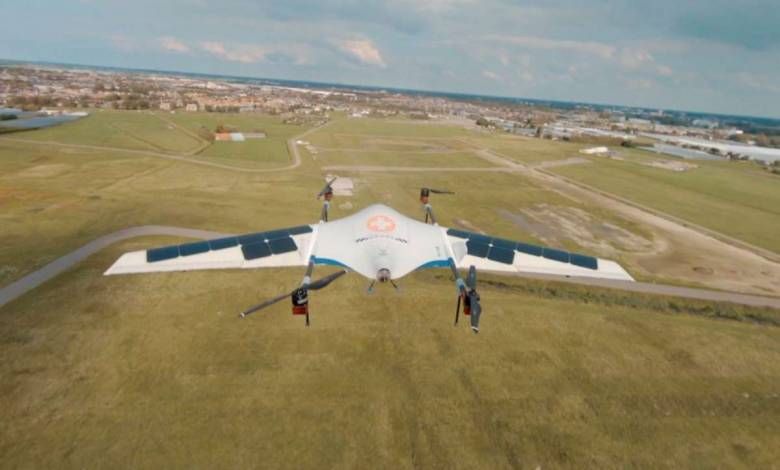 Photo de Avy : le drone solaire et zéro émission concrétise son premier vol d'essai