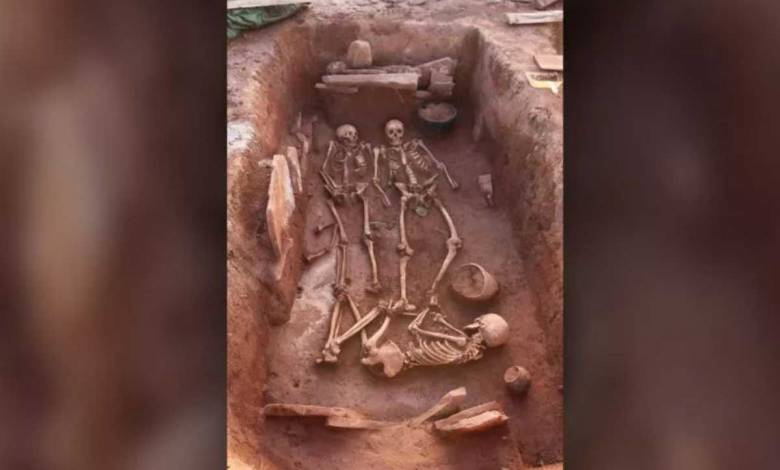 """Découverte d'une sépulture sibérienne contenant une """"femme guerrière"""" et une multitudes d'armes"""