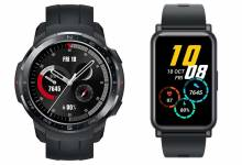 Photo de HONOR Watch GS Pro et HONOR Watch ES : deux montres connectées à petit prix