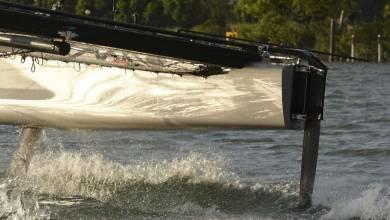 """Alcidaé: ils inventent un foil en kit pour faire """"voler"""" les bateaux traditionnels"""