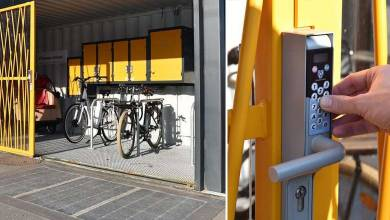 Photo de Mobilypod : des abris pour vélos électriques innovants, écologiques et solidaires à Rezé (44)