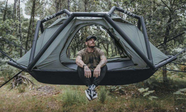 EXØD : ARK, une tente atypique spécialement conçu pour les roadtrips