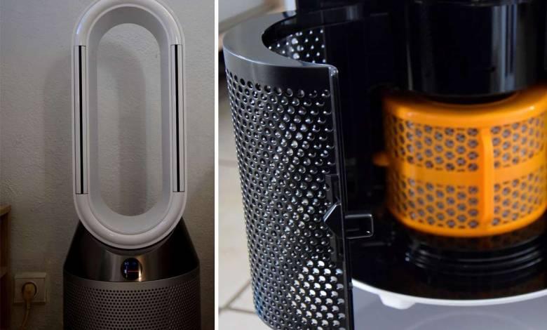 Nous avons testés le Dyson Pure Humidy + Cool, un appareil 3 en 1 qui assainit l'air de votre intérieur