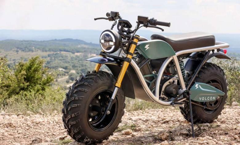 Volcon Grunt, une moto électrique « fat-tire » dotée d'une autonomie impressionnante