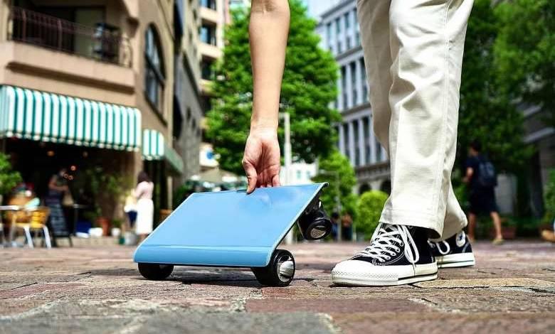 """Walkcar : la """"voiture"""" qui tient dans un sac à main revient sur le devant de la scène"""