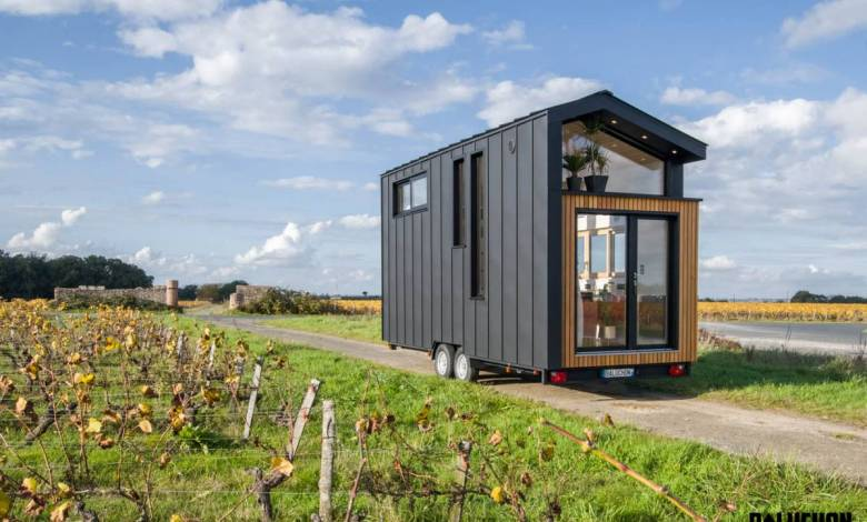 """Ala Köl : focus sur la nouvelle Tiny House """"bois et métal"""" de l'entreprise française Baluchon"""