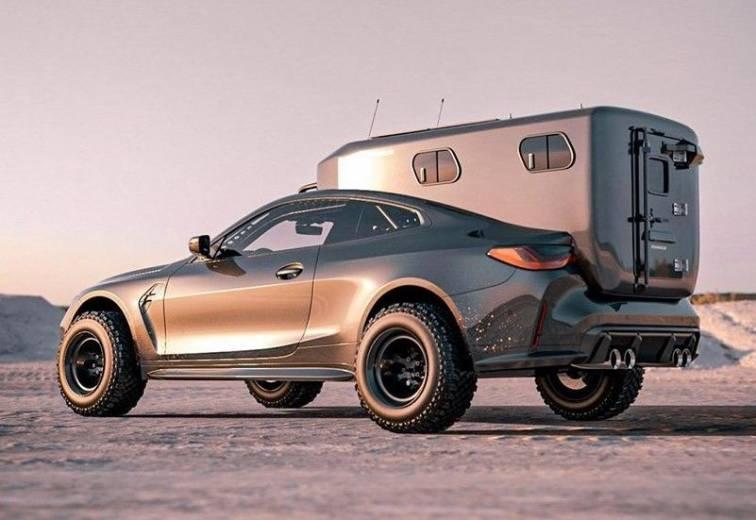 BradBuilds : un jeune artiste américain transforme une BMW M4 en camping-car !
