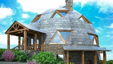 C'est quoi une maison (bulle ou dôme) géodésique ?
