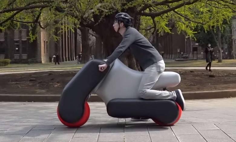 Poimo : le scooter gonflable se dévoile dans une nouvelle version capable de s'adapter à votre posture