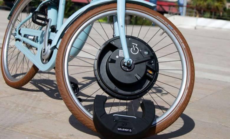 Solexon : SoleX dévoile une roue pour transformer les bicyclettes en vélos électriques !