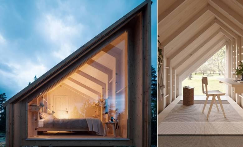 Space of Mind : une petite maison modulaire conçue pour vous aider à vous ressourcer