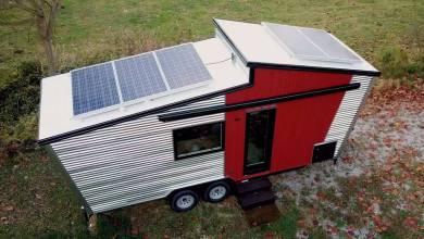 Tiny House : le fabricant d'électroménager solaire lance sa maison sur roues autonome et hors réseau