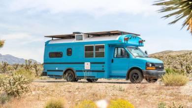 Mybushotel transforme de vieux utilitaires en magnifiques camping-car