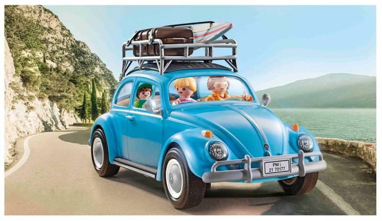 Playmobil : une nouvelle licence avec la mythique coccinelle et le célèbre Van Combi Volkswagen
