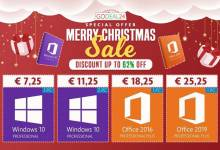 Soldes Noël : Windows 10 Pro à 7,25€, Office 2019 Pro à 28,25€ et plus encore...