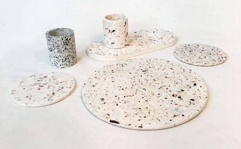 Malàkio : cette entreprise bretonne recycle les coquilles de crustacés en objets design !