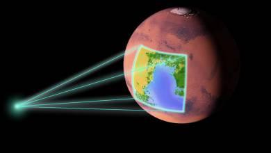 Les océans disparus de Mars pourraient être piégés dans la croute de la planète