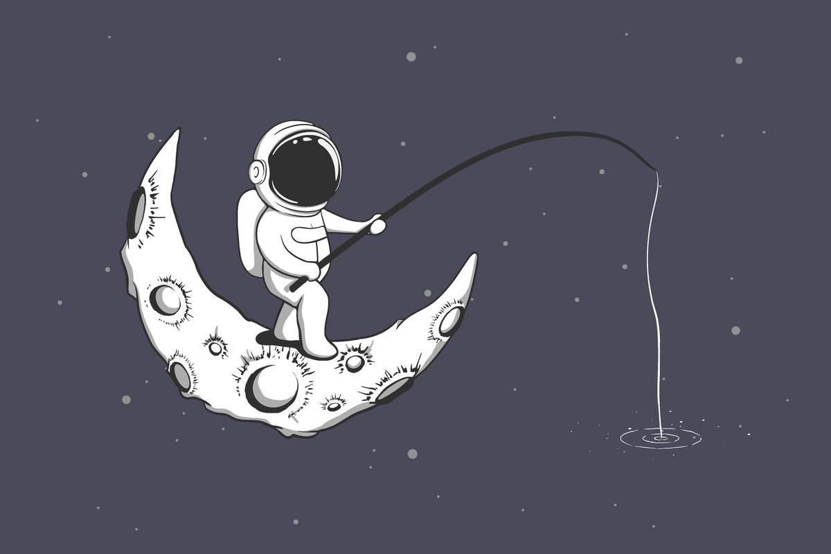 Conquête Lunaire:bientôt des élevages de poissons sur la Lune ? - NeozOne
