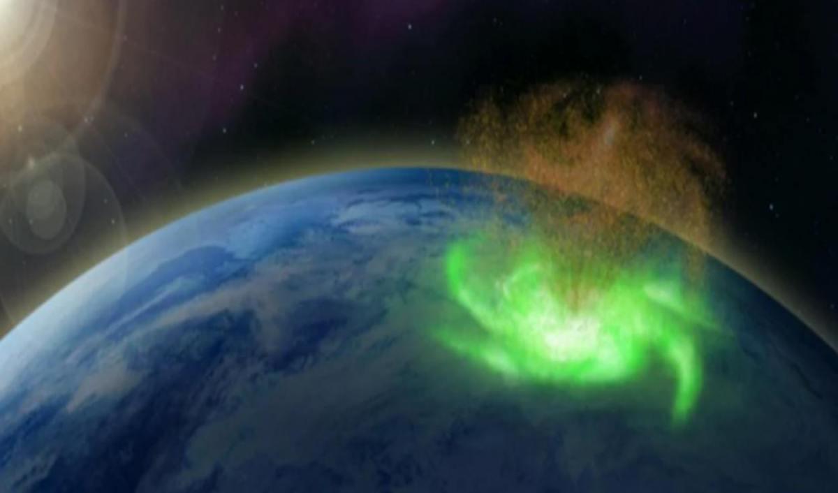 La première et incroyable observation d'un ouragan spatial faisant « pleuvoir » des électrons dans la haute atmosphère ! - NeozOne