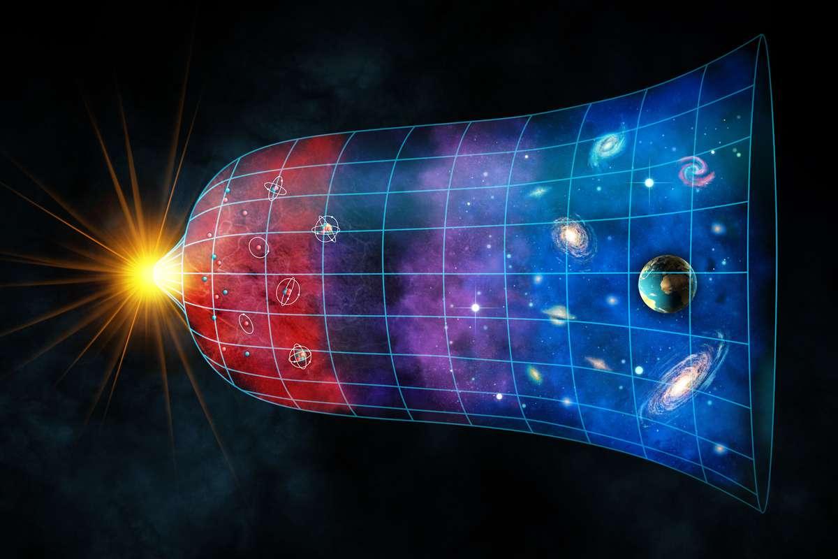 Le cycle de vie de l'Univers est en 5 phases, et nous sommes actuellement dans la seconde - NeozOne
