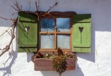 Maison rurale dans la région de Podravina près de Drava en Croatie.