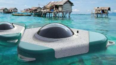 Waterpod : une capsule de dessalement de l'eau de mer récompensée aux Dyson Award