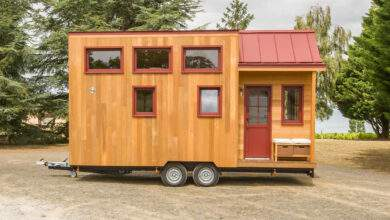 Farniente, une magnifique Tiny House fabriquée par l'entreprise Baluchon