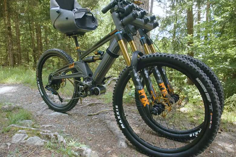 Orange Phase AD3, the all-terrain and inclusive electric three-wheel bike